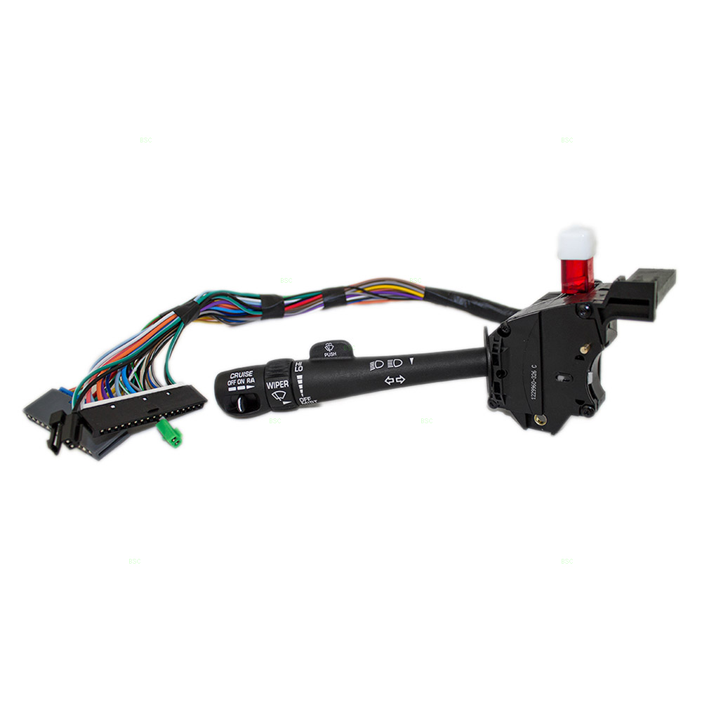 New Turn Signal Switch Lever w Cruise GMC Cadillac Chevrolet Pickup Truck SUV