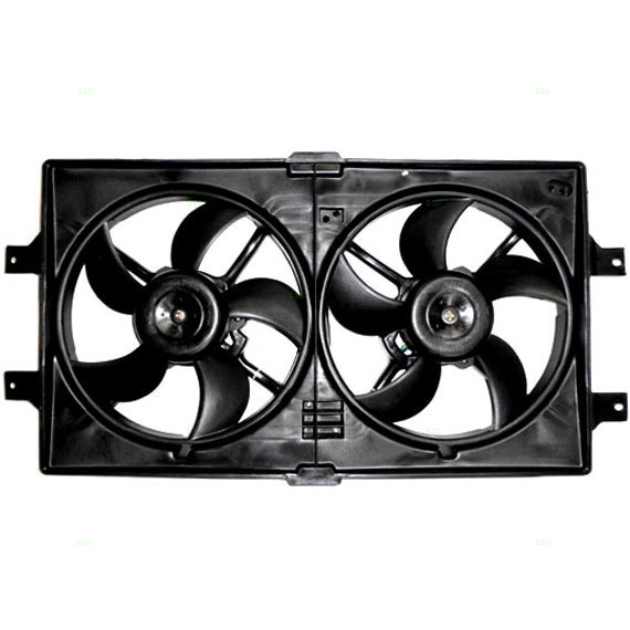 Radiator Fan Assembly Replacement 1998 2004 Chrysler 300m