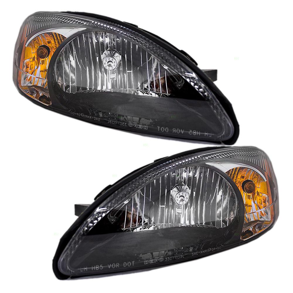 Ford Taurus Headlight Assembly : New pair set headlight headlamp lens housing assembly dot