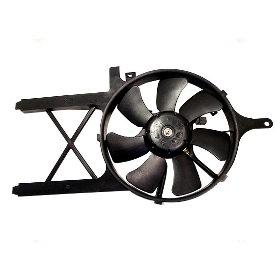 2007 Acura Rdx Cooling Fan Assembly Condenser Side: New Condenser Cooling Fan Assembly Nissan Frontier Xterra