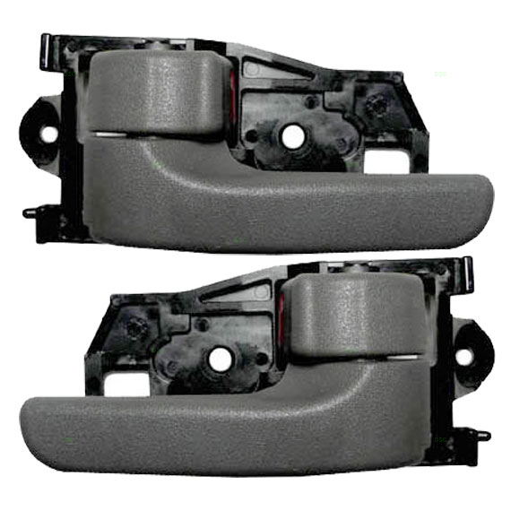 New Pair Set Inside Inner Interior Gray Door Handle Assembly Toyota Camry Sienna Ebay