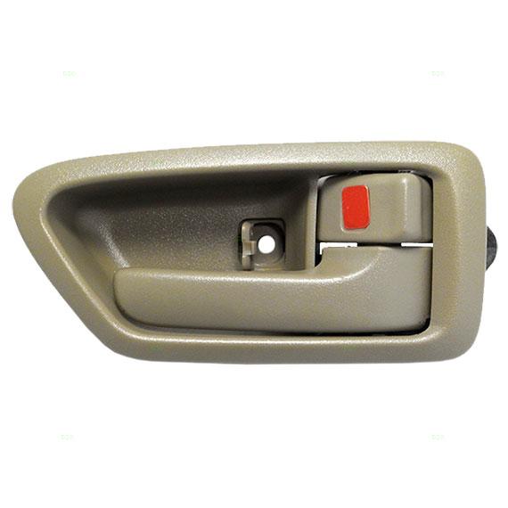 New Passengers Inside Interior Tan Door Handle Trim Bezel 97 01 Toyota Camry Ebay