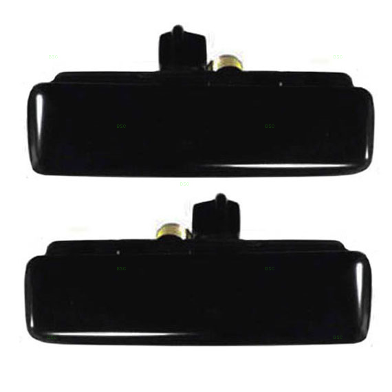 New Pair Set Outside Front Metal Door Handle 92-05 Chevy Astro GMC Safari Van