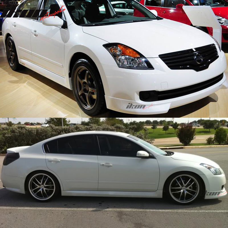 nismo 07 09 fit for nissan altima front bumper lip spoiler urethane. Black Bedroom Furniture Sets. Home Design Ideas