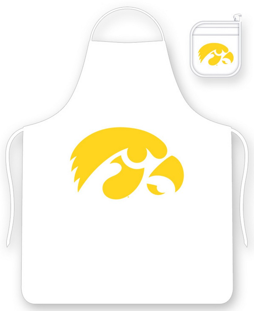 University of Iowa Hawkeyes Apron and Oven Mitt Set