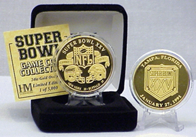 New York Giants NY Super Bowl Collectors Coin