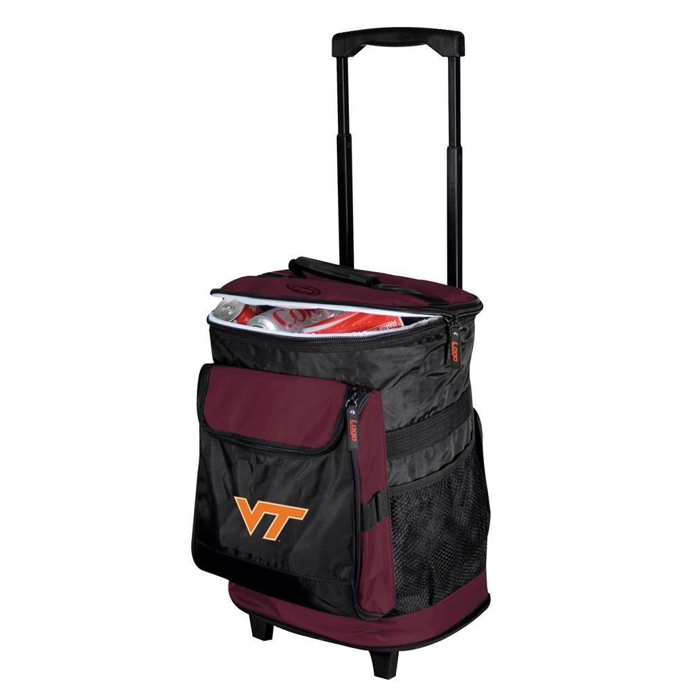 Virginia Tech Hokies Can Rolling Cooler