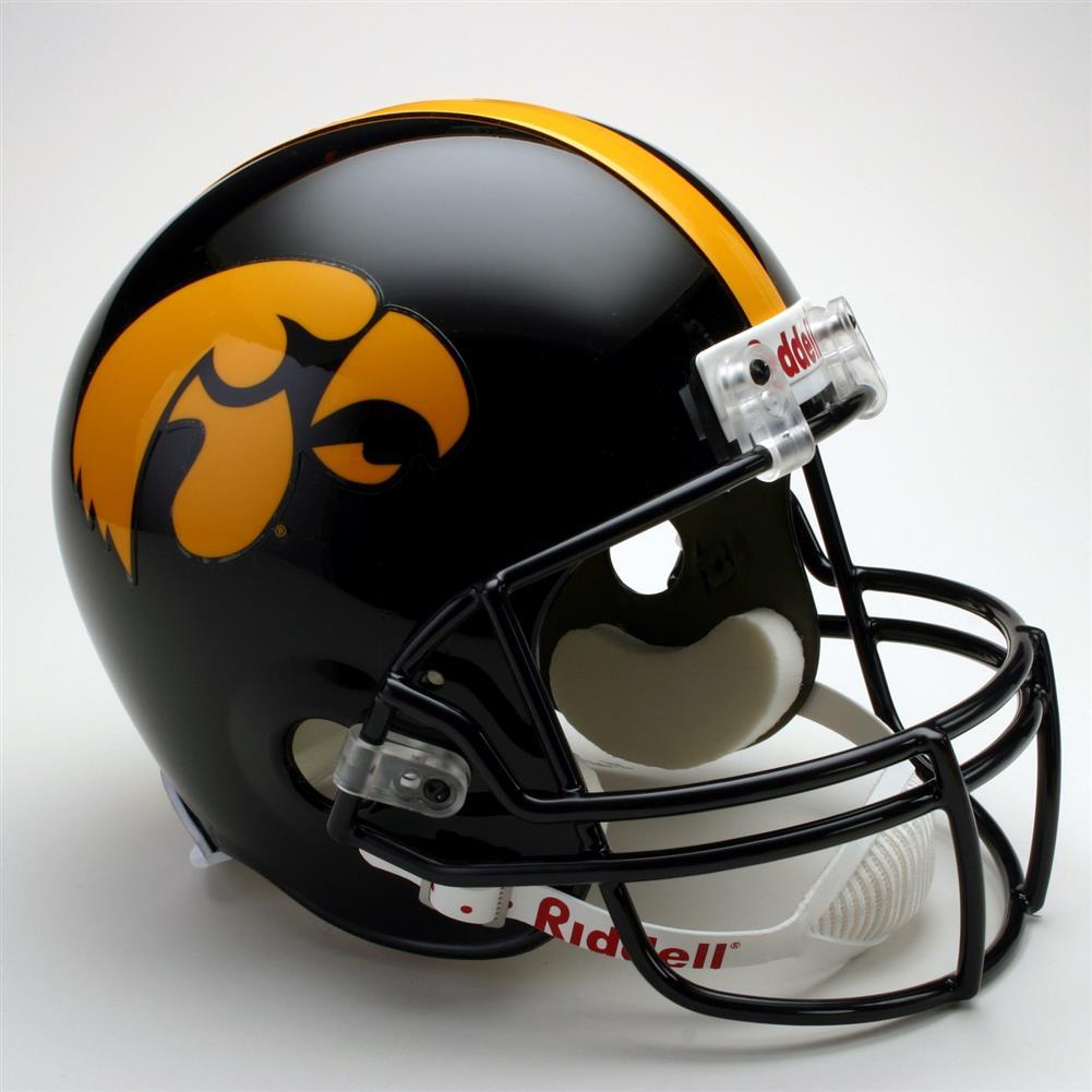 Iowa Hawkeyes Full Size Riddell Replica Football Helmet