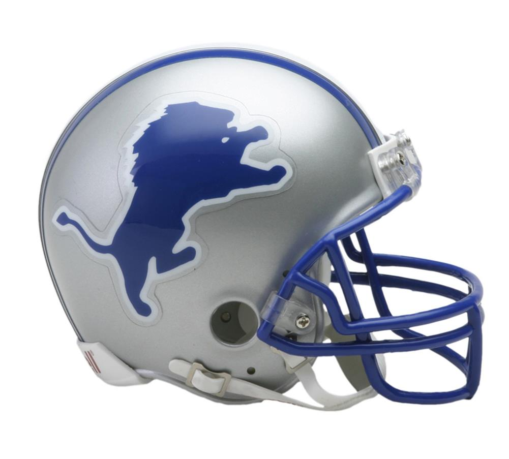 Detroit Lions Mini Throwback Helmet - Mini VSR4 Helmet