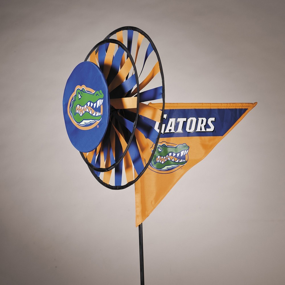 Florida Gators Yard Decoration- Windmill Spinner