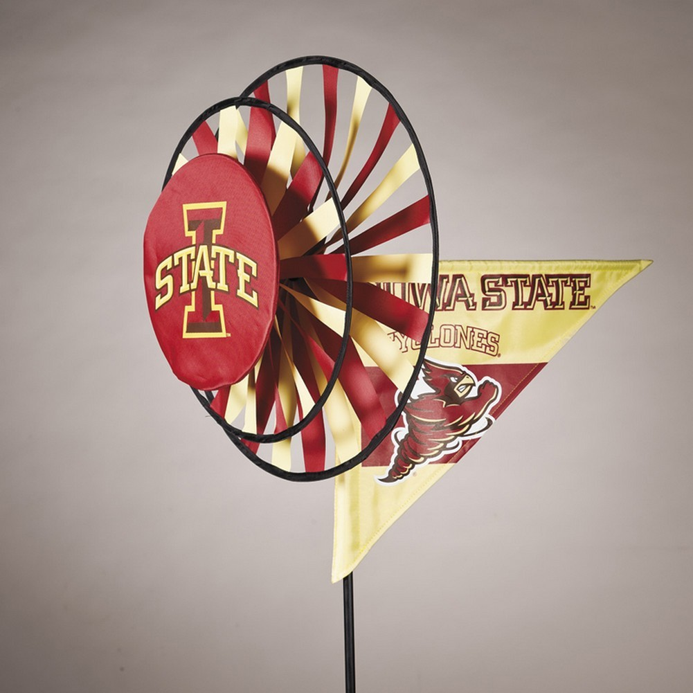 Iowa State Cyclones Yard Decoration- Windmill Spinner