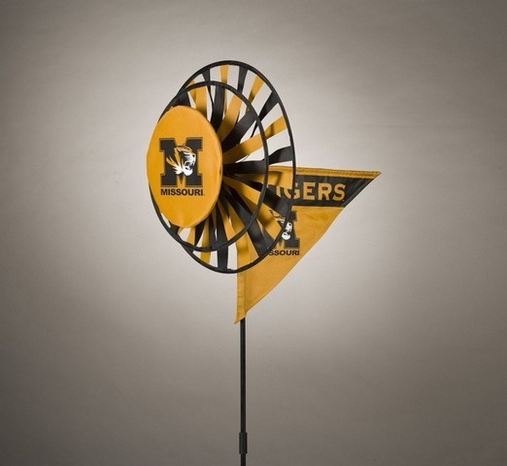 Missouri Tigers Yard Decoration- Windmill Spinner