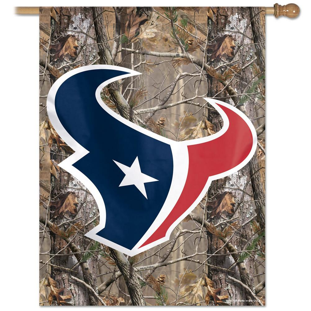 Houston Texans Flag Vertical Outdoor