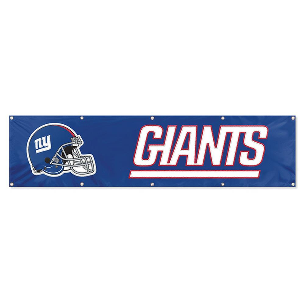 New York Giants NY 8 Ft Tailgate Banner Flag