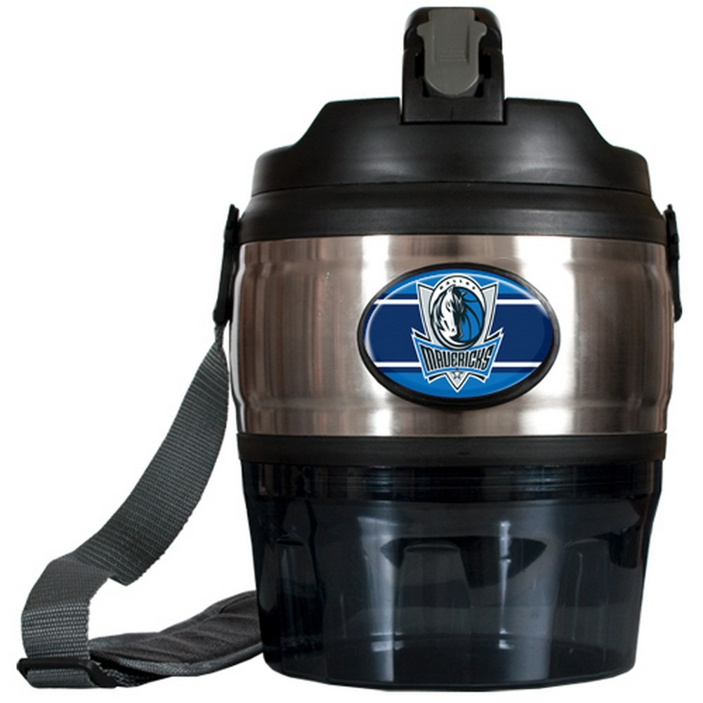 Dallas Mavericks Large Stainless Steel Sports Jug