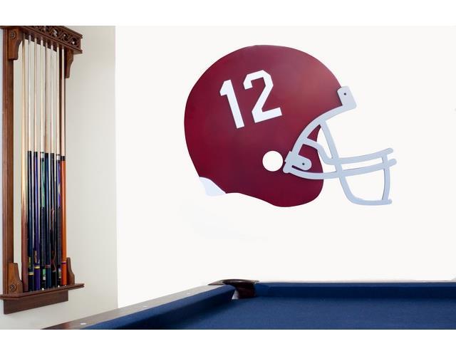 Alabama Crimson Tide Bama Football Helmet Wall Art Decor