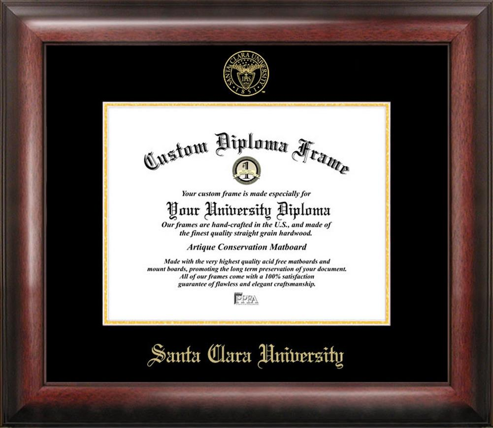 Santa Clara University Home Office Diploma Picture Frame
