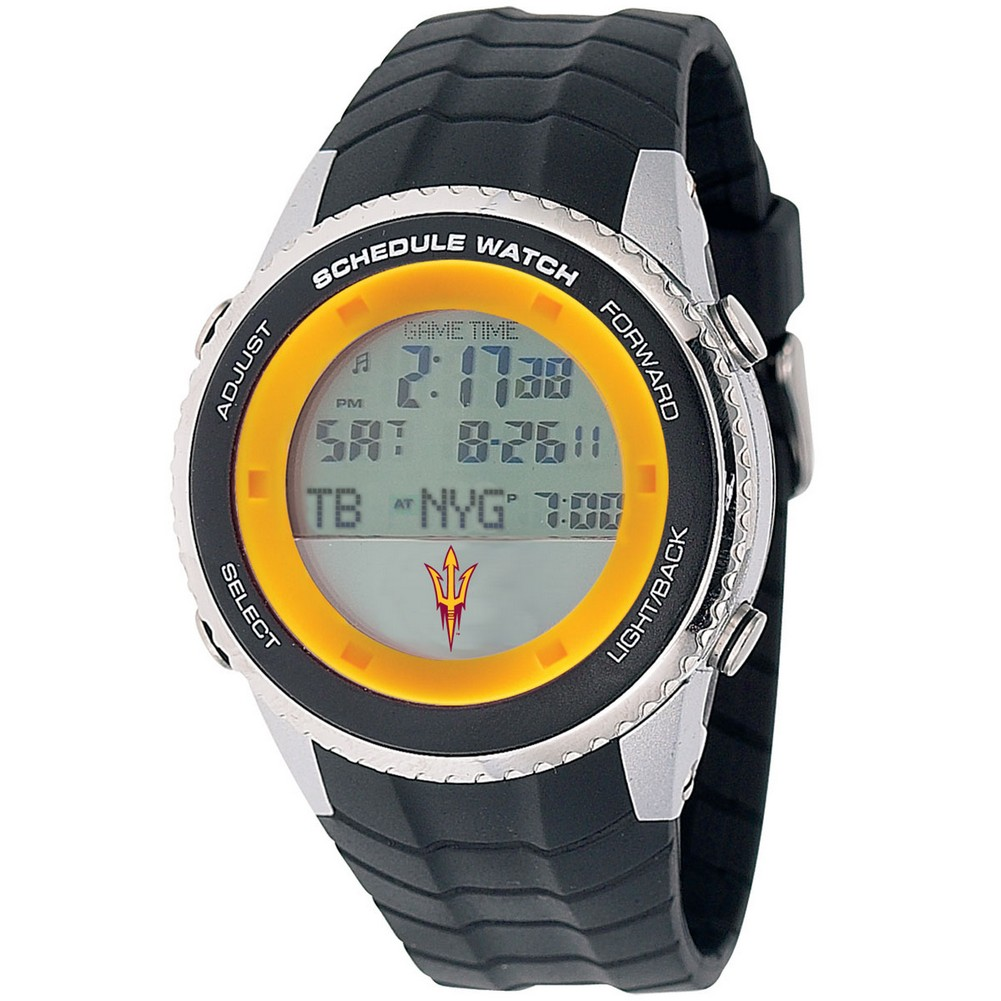 Arizona State University Mens Schedule Wrist Watch