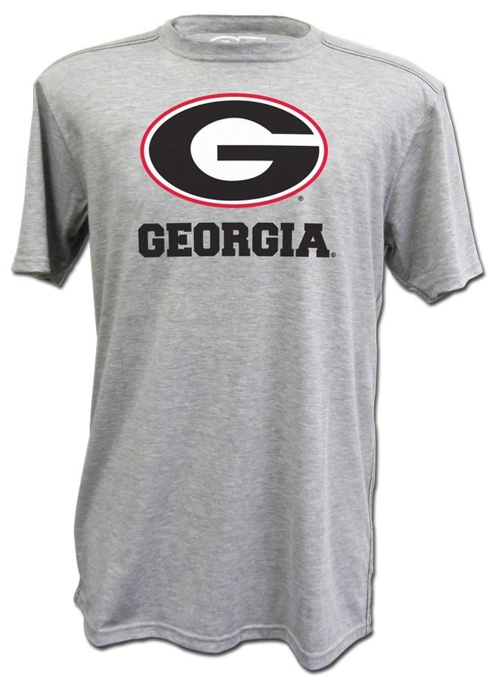 E5 Digital Print Gray Georgia Bulldogs Shirt at Sears.com