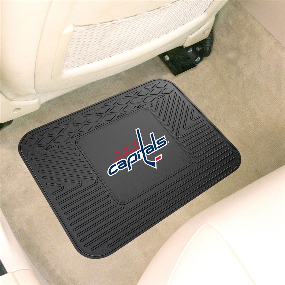 Washington Capitals One Car Auto Rear Rubber Floor Mat