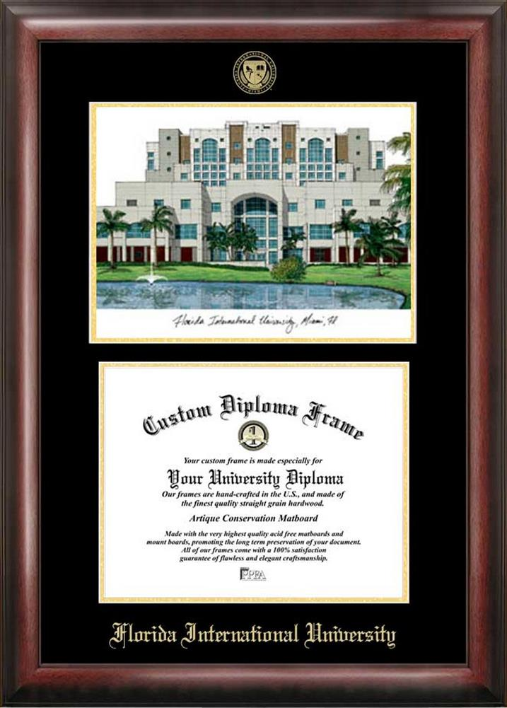 Florida International University Diploma Frame with Limited Edition ...