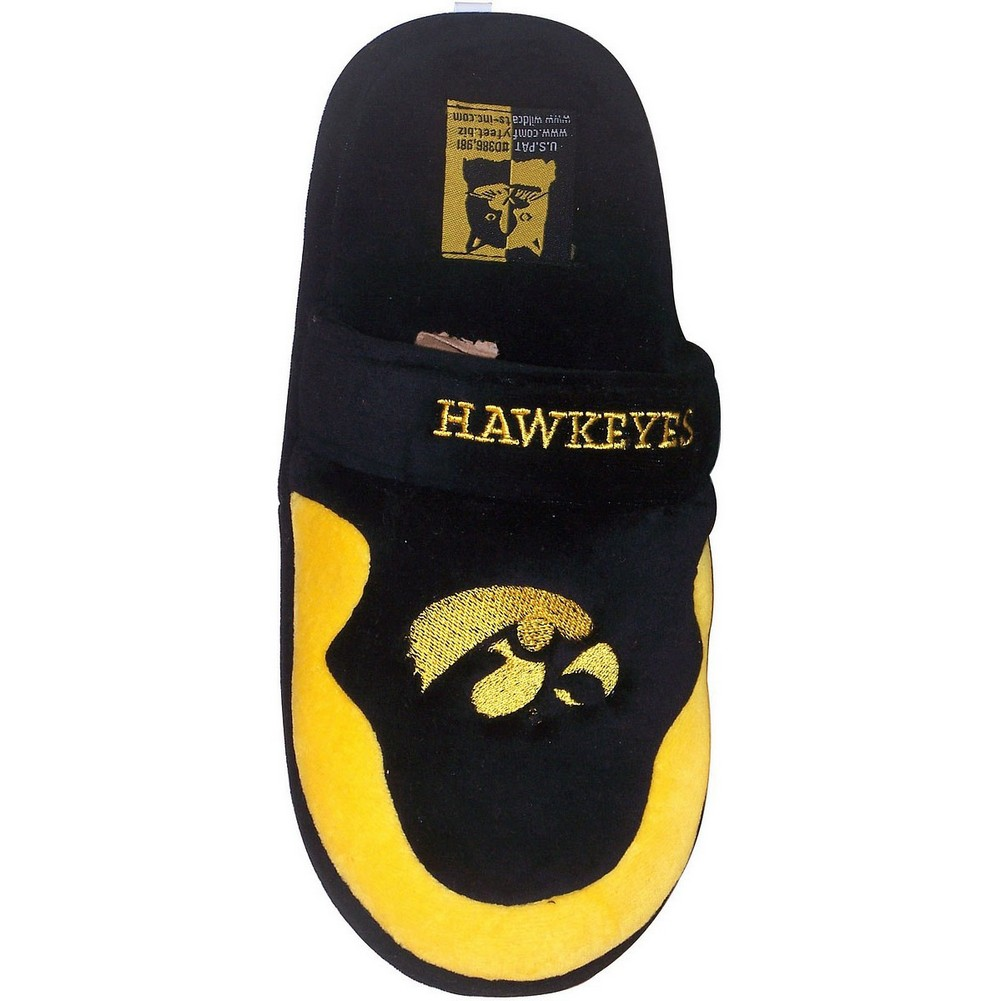 University of Iowa Hawkeyes Mens House Shoes Slippers