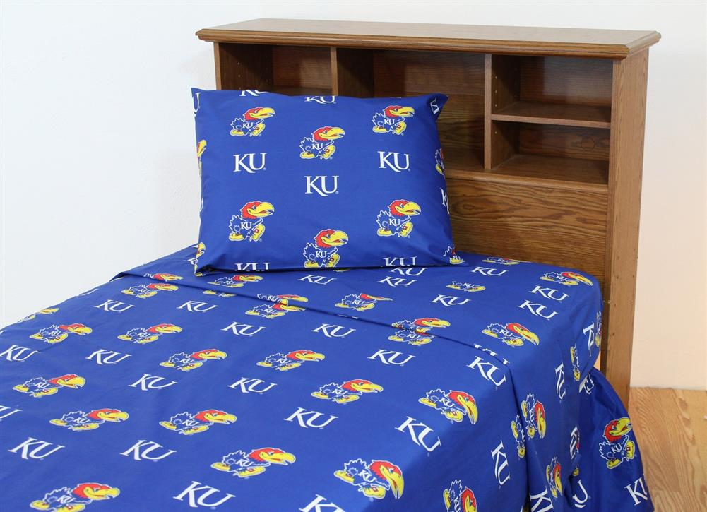 Kansas Jayhawks Twin Bedding