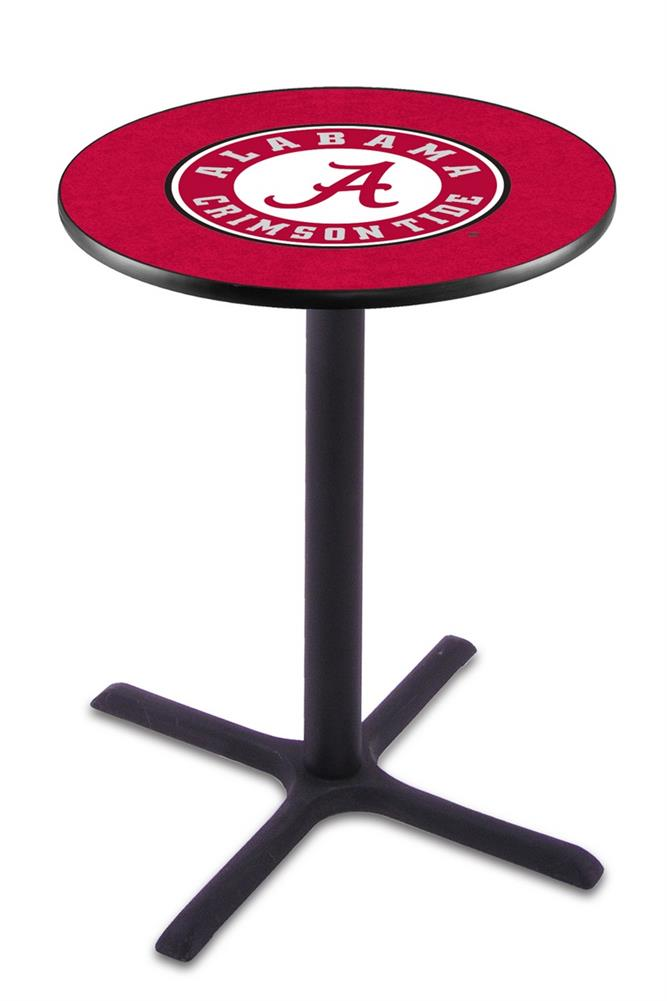 Alabama Crimson Tide Black Pub Table