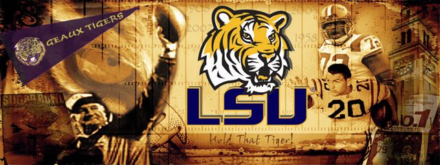 Sports Wall Murals lsu tigers louisiana state sports wall mural wallpaper 4' x 10