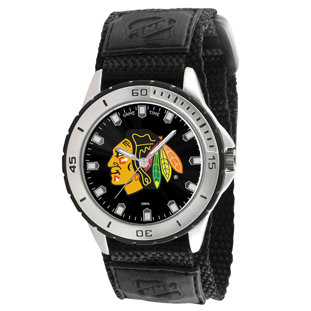 Chicago Blackhawks Mens Adjustable Sports Watch