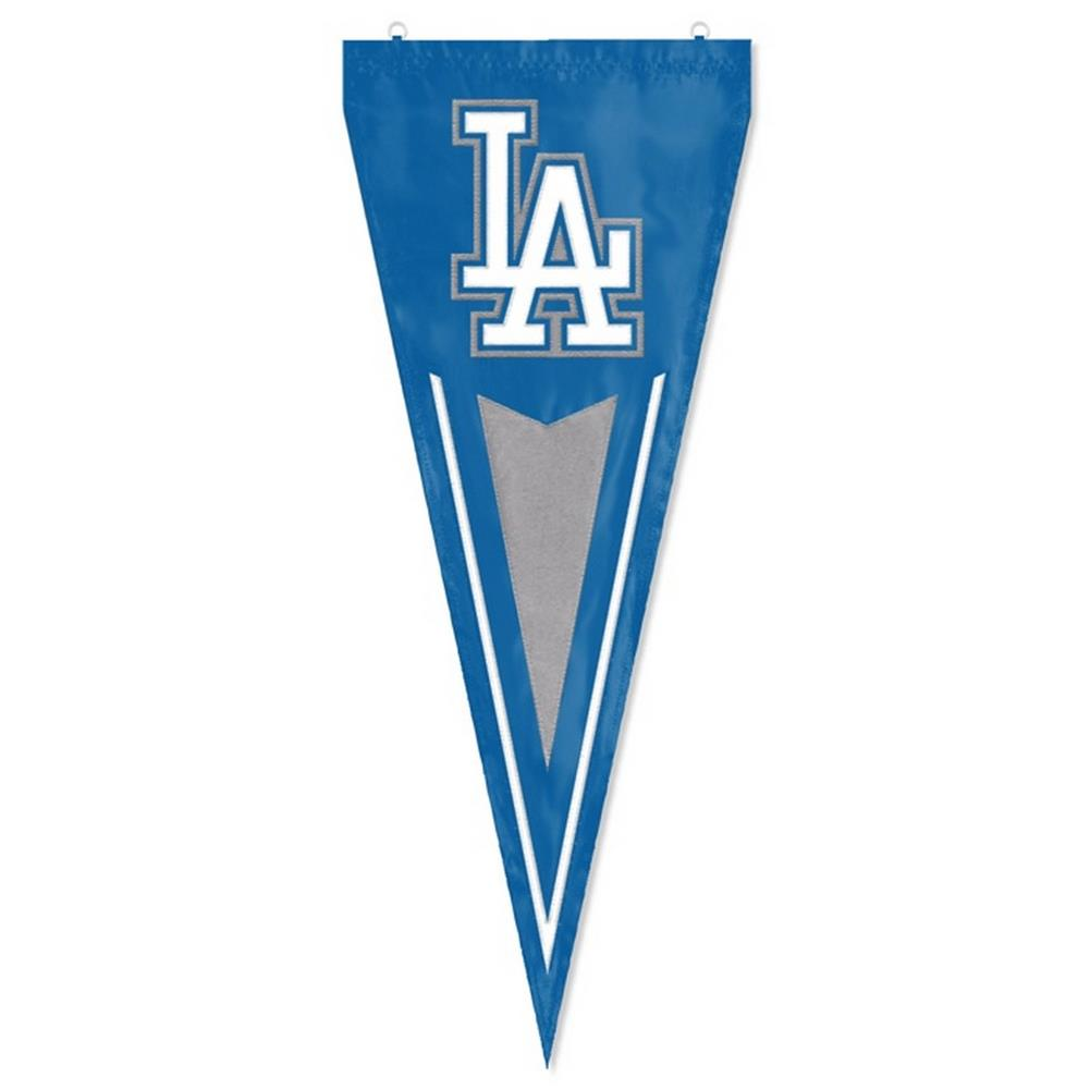 Los Angeles Dodgers LA Indoor Outdoor Wall Pennant Flag