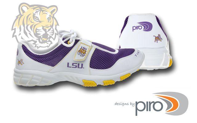 LSU Tigers Louisiana State Lightweight Tennis Shoes | eBay