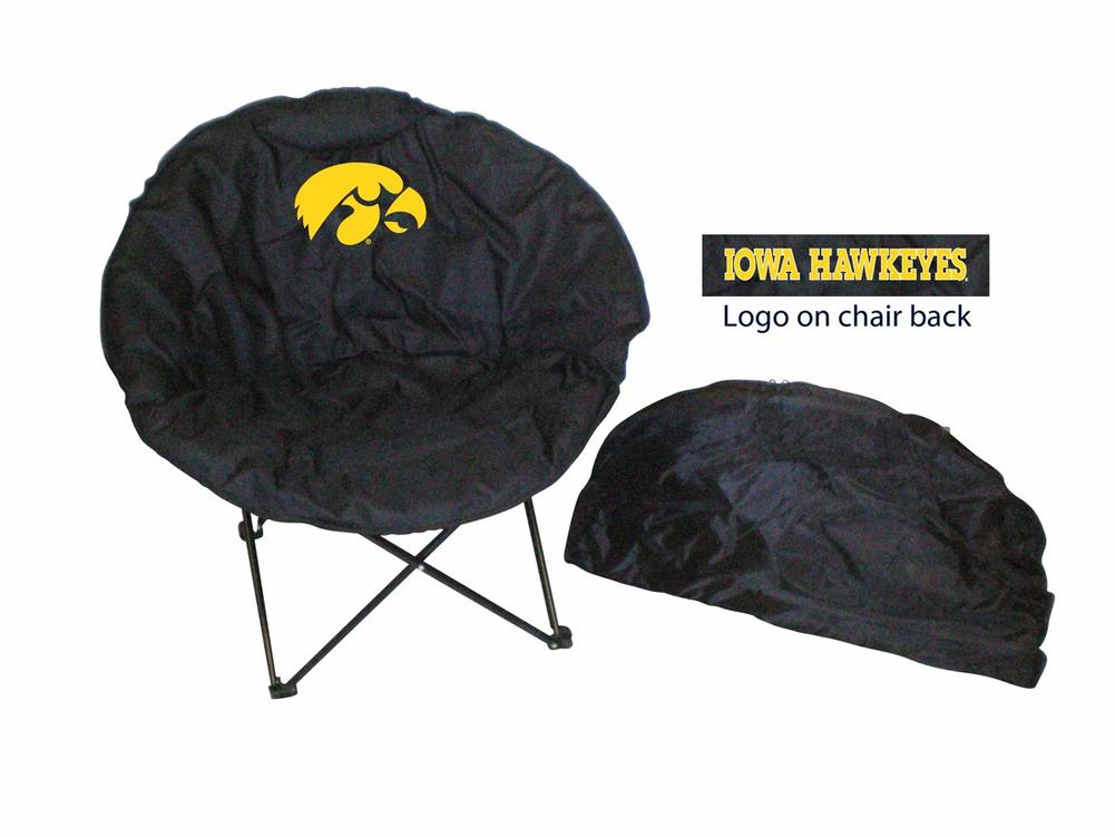 Iowa Hawkeyes Round Folding Chair