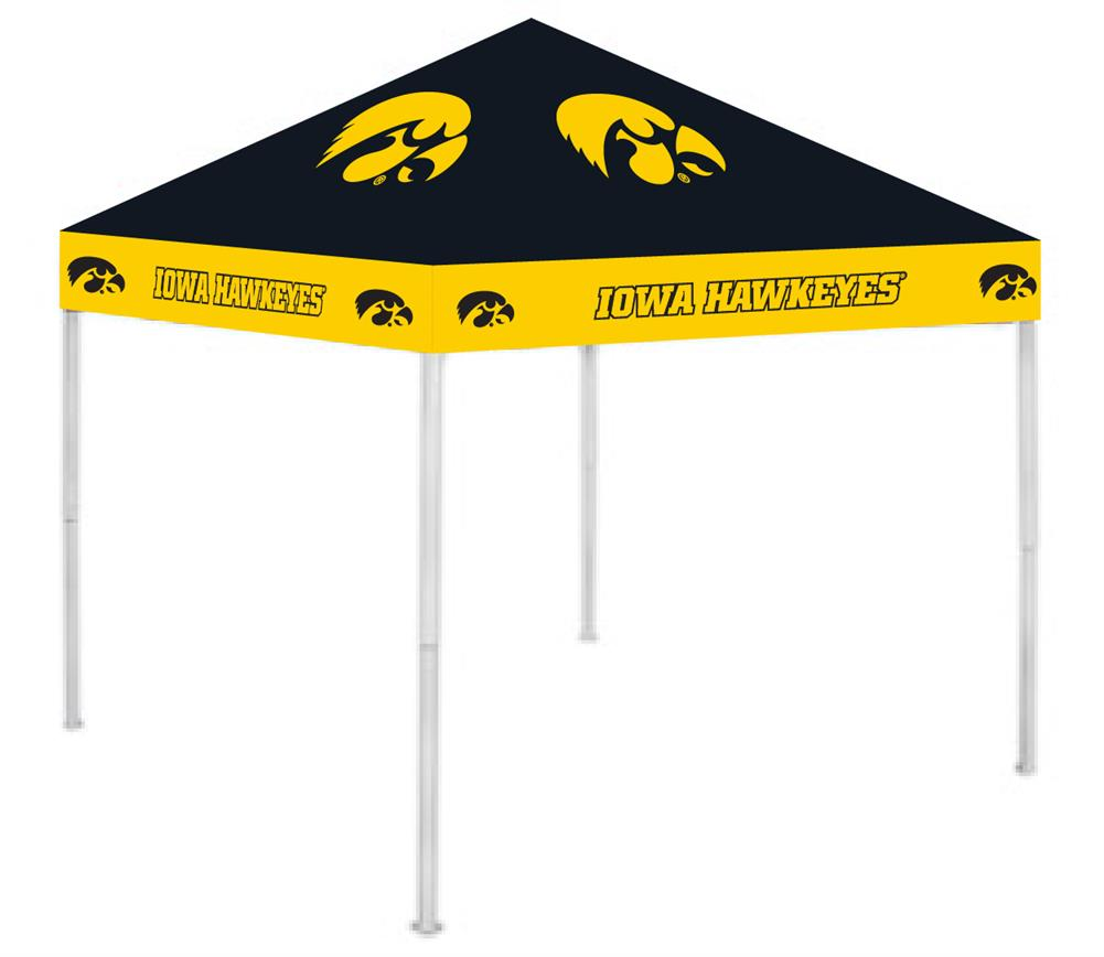 University of Iowa Hawkeyes Outdoor Tailgate Canopy Tent