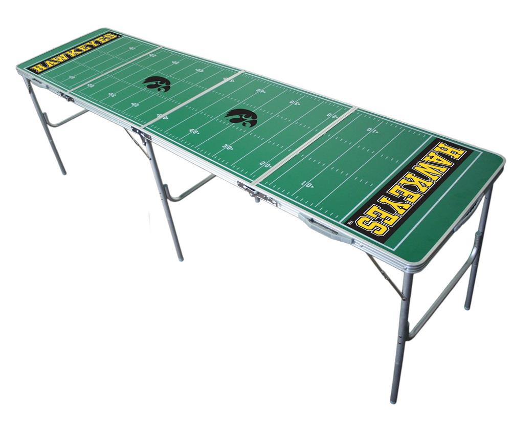 University of Iowa Hawkeyes Portable Folding Lightweight Party Table