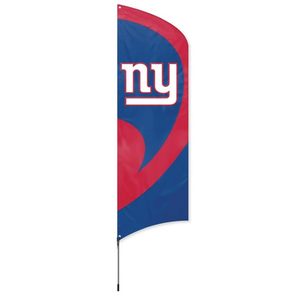 New York Giants NY Large 8 Ft Tall Tailgate Flag