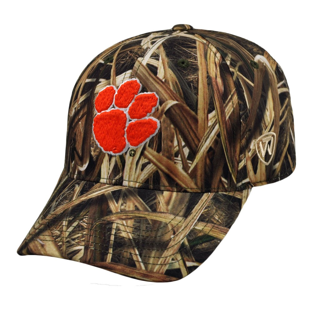 Top of the World Clemson University Tigers Blades Camo Memory Foam Fitted Hat at Sears.com