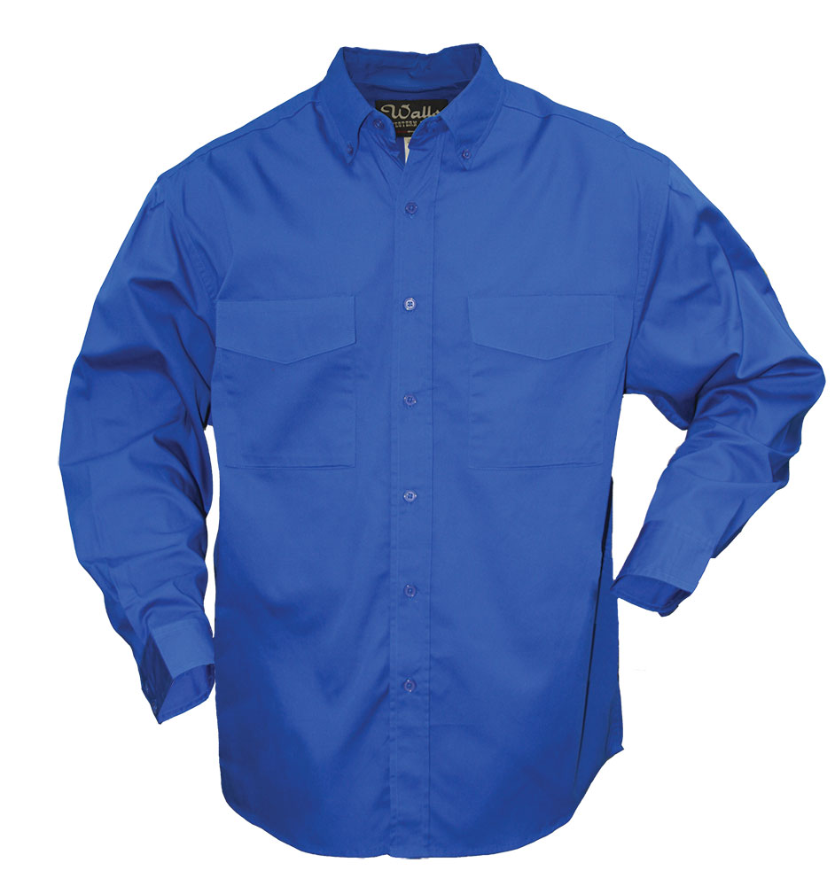 56810 Mens Western Cotton Twill Button Down Shirt