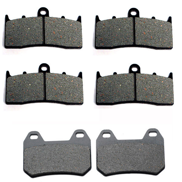 2000-2009 BMW K1200LT (ABS) Kevlar Front & Rear Brake Pads