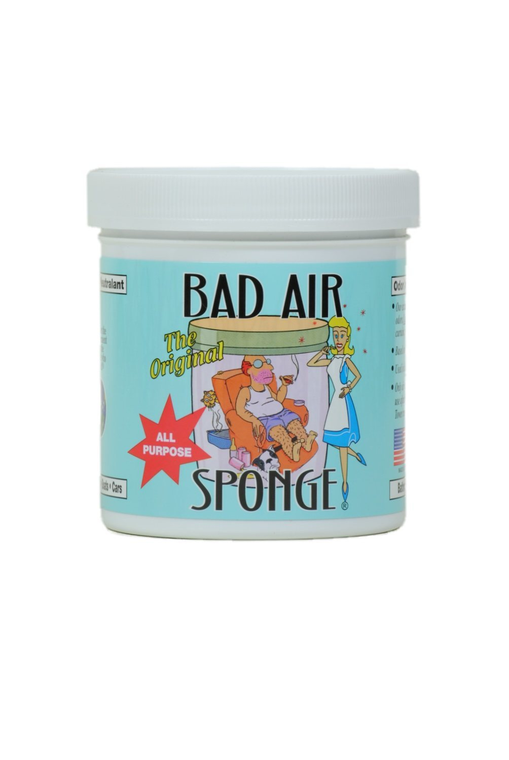 Air Sponge Odor Absorber ~ The original bad air sponge odor absorber and neutralant