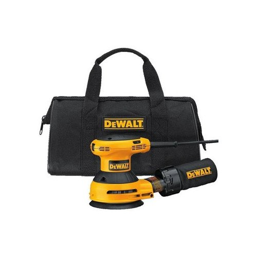 "DEWALT D26453KR 3 Amp 5"" Variable Speed Random Orbit Sander Kit w/ Dust Bag at Sears.com"