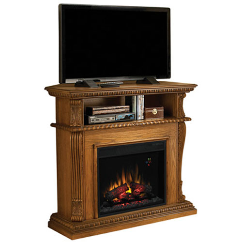 Classic Flame Corinth 23 Corner Electric Fireplace Media