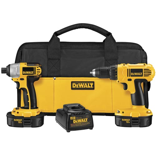 DEWALT RECON DEWALT 18V Compact Drill and Impact Driver Kit DCK235CR Reconditioned DCK235C at Sears.com