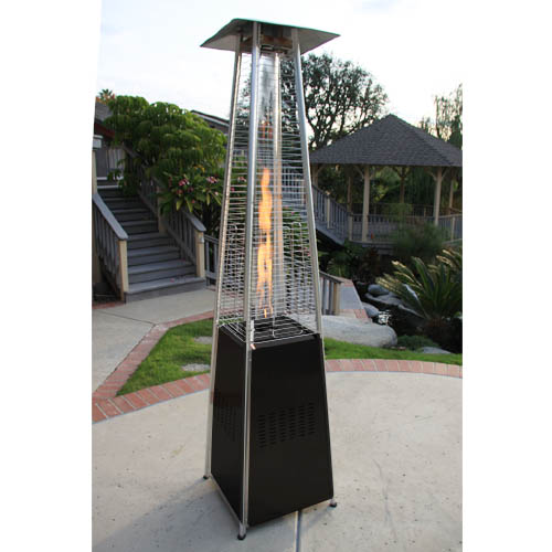 Garden Radiance Stainless Steel Pyramid Outdoor Patio Heater - GRP4000