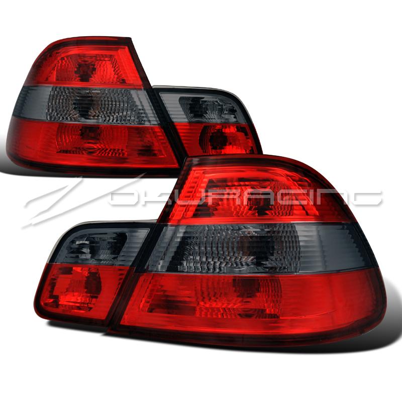 2000 Bmw 323ci Coupe: 2000-2003 BMW E46 2DR 323Ci 325Ci 330Ci COUPE RED/SMOKE