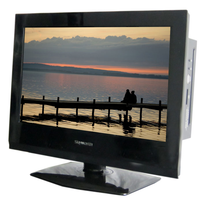 Skyworth 15.6 inch Skyworth SLC-1519A-3M AC/DC 12 Volt HDTV ATSC Digital TV LED Back Light & DVD Player at Sears.com