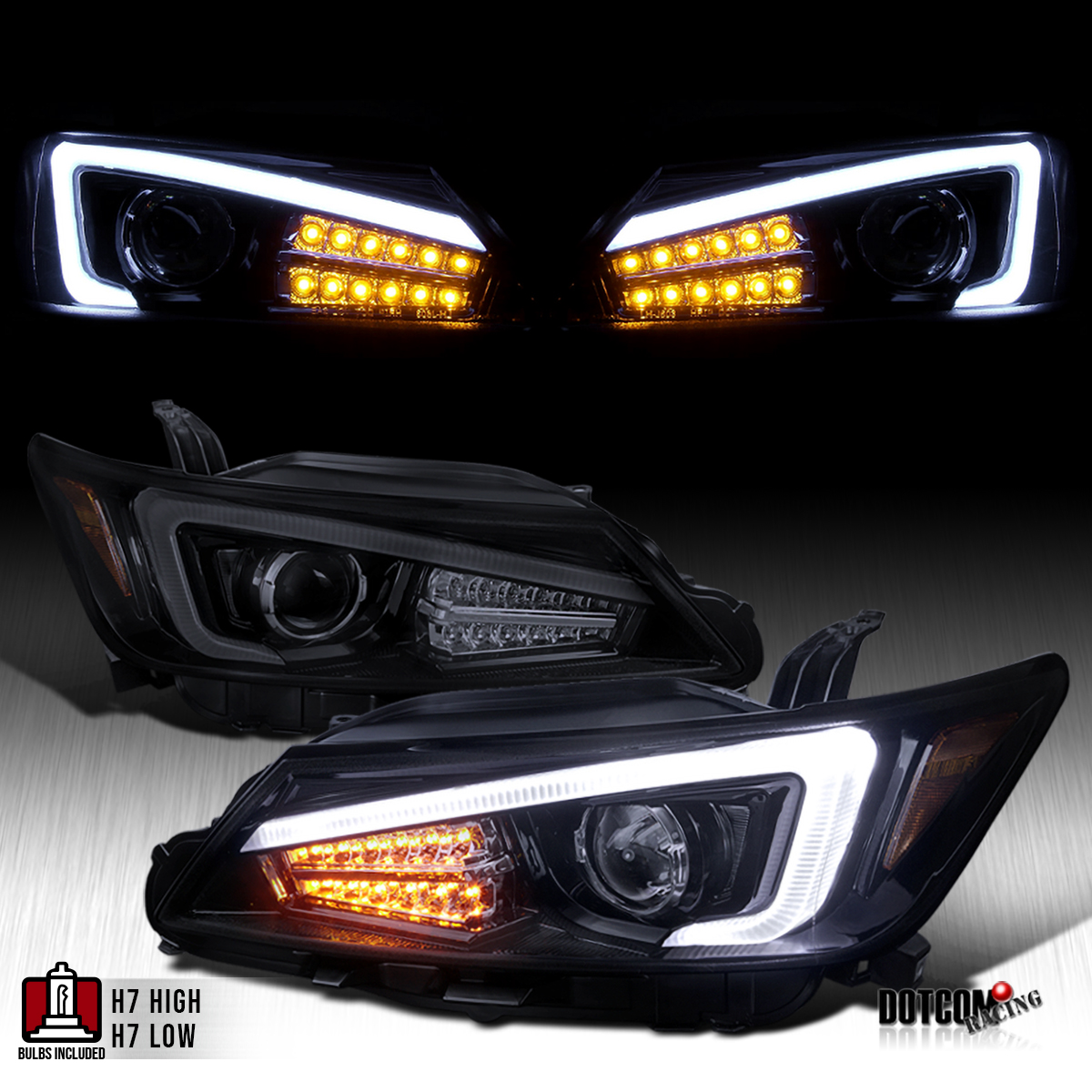 2011 2013 scion tc coupe glossy black led signal light. Black Bedroom Furniture Sets. Home Design Ideas