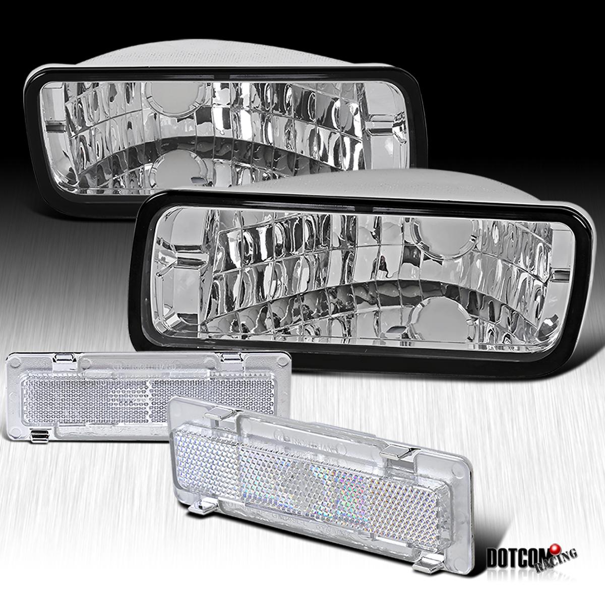 85 92 Chevy Camaro Chrome Bumper Light Side Marker Lamp