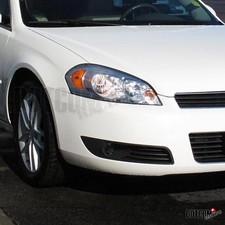 Euro Smoke 06 12 Chevy Impala Driving Fog Lights Bumper Lamps Switch
