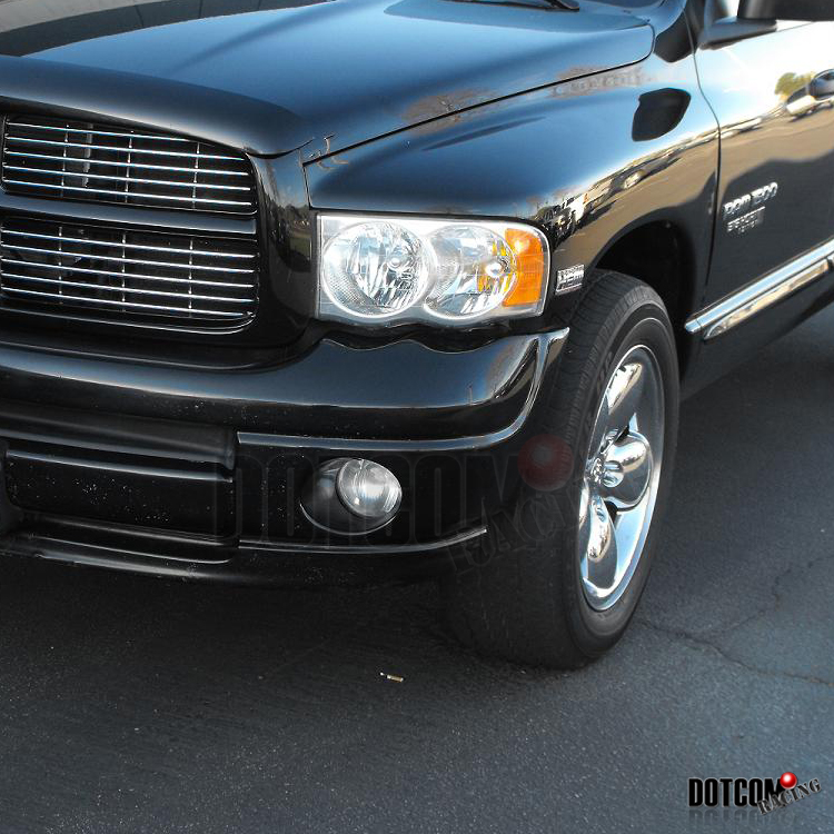 2006 2008 Dodge Ram 1500 2500 3500 Smoke Front Bumper: 2002-2008 DODGE RAM 1500 FOG LIGHTS LAMP 2003 2004 2005